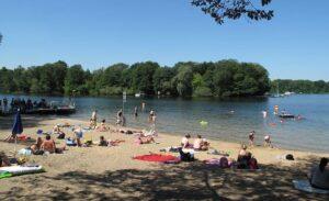De meren rondom Berlijn zijn zowel geschikt voor recreatie rond als op het water