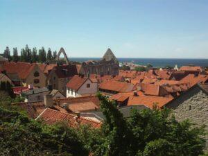 Het historische Visby is een van de oudste steden van Zweden